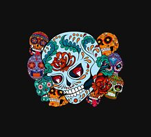 Sugar skull Collage Unisex T-Shirt