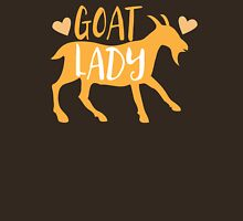 Goat Lady Womens Fitted T-Shirt