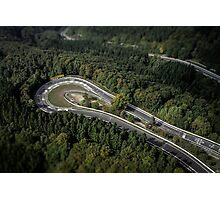 Karussell Aerial Photographic Print