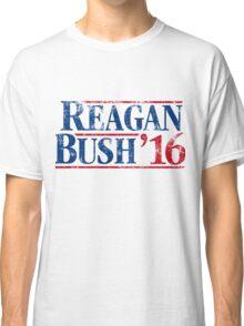 Distressed Reagan - Bush '16 Classic T-Shirt