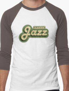 Old Classic Jazz Men's Baseball ¾ T-Shirt