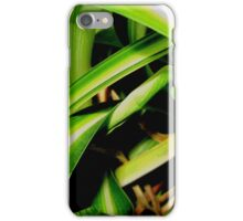 Close up jungle iPhone Case/Skin