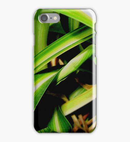 Close up jungle iPhone Case/Skin
