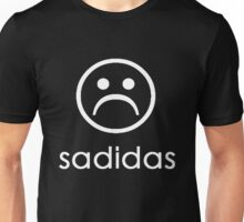 Sadidas ( Adidas Parody ) Sad Face Emoji Unisex T-Shirt