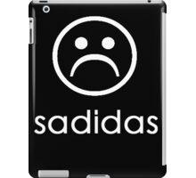 Sadidas ( Adidas Parody ) Sad Face Emoji iPad Case/Skin