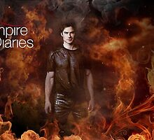 TVD - Damon by angelscreations