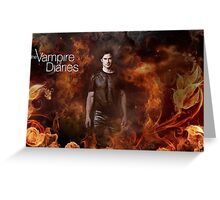 TVD - Damon Greeting Card