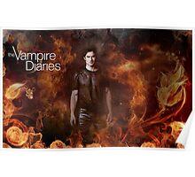 TVD - Damon Poster