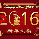 Chinese New Year 2016 Year Of The Monkey by Moonlake