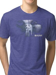 Don't Blink - Weeping Angel Tri-blend T-Shirt