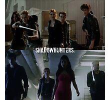 Shadowhunters  Photographic Print