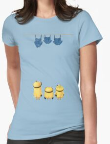 Minion Uncensored Womens Fitted T-Shirt