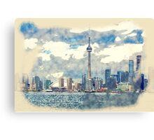 Toronto Ontario Canada Canvas Print