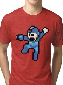 MegaMan Artwork Tri-blend T-Shirt