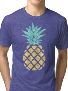 Golden Pineapple Tri-blend T-Shirt