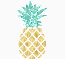 Golden Pineapple Unisex T-Shirt
