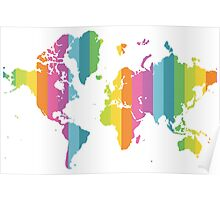 Colorful World Poster