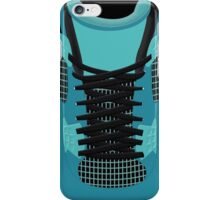 4 teal theme iPhone Case/Skin