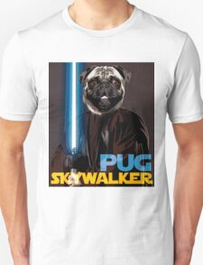 Pug Skywalker Unisex T-Shirt