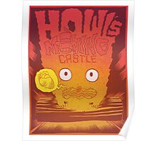 Calcifer - Howl's Moving Castle Poster
