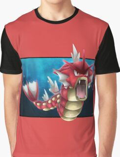 Shiny Gyarados Graphic T-Shirt