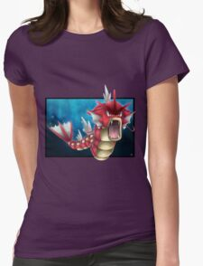 Shiny Gyarados Womens Fitted T-Shirt