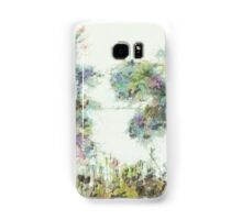 Colorful winter scene Samsung Galaxy Case/Skin