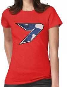 7 - Kimi Raikkonen, Finland Womens Fitted T-Shirt