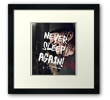 Freddy Krueger Framed Print
