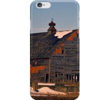 Birch Avenue Barn iPhone Case/Skin