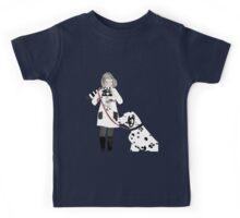 Girl & Dalmatian Kids Tee