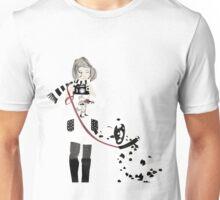 Girl & Dalmatian Unisex T-Shirt
