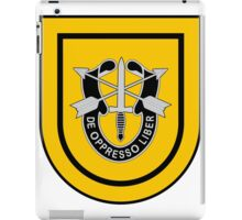 1st Special Forces iPad Case/Skin