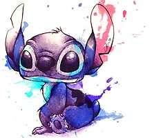 Stitch Watercolor by Ckibe