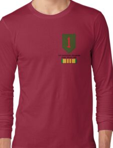 1st Infantry Vietnam Long Sleeve T-Shirt