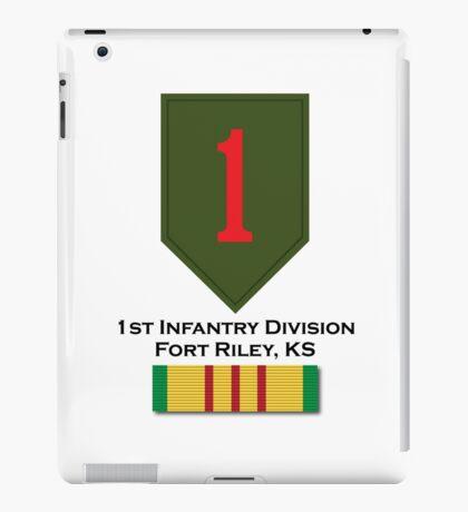 1st Infantry Vietnam iPad Case/Skin