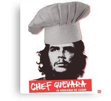 Chef Guevara Canvas Print