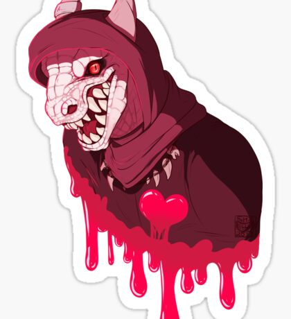 Eat Your Heart Out Sticker