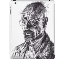 Walter White Breaking Bad Ink Portrait iPad Case/Skin
