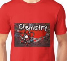 Famous humourous quotes series: Chemistry Graffiti with atom Unisex T-Shirt