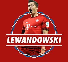 Robert Lewandowski - FC Bayern Munich by twyland