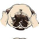 No Evil Pug by Huebucket
