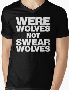 Werewolves, not Swearwolves Mens V-Neck T-Shirt