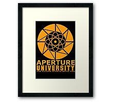 Aperture University Framed Print