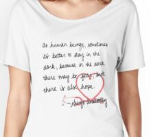 Grey's anatomy- best quote Women's Relaxed Fit T-Shirt