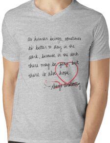 Grey's anatomy- best quote Mens V-Neck T-Shirt