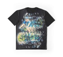 Riding is fun Enjoy life with a bicycle.  Graphic T-Shirt