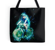 Riding is fun Enjoy life with a bicycle. Tote Bag