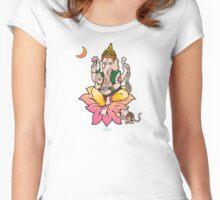 Sri Ganesha Women's Fitted Scoop T-Shirt