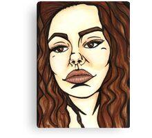 Alice Ulapala End Game Fanart Design Canvas Print